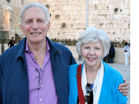 Sid and Joyce in Israel